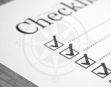 Pre Retirement Checklist